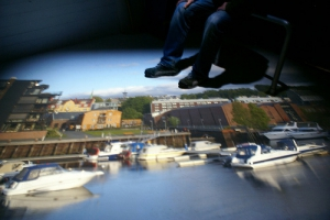 Lens Image in Trondheim Camera Obscura